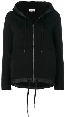 Moncler contrast trim hooded sweatshirt