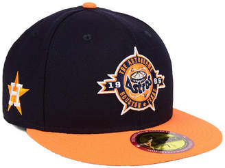 New Era Houston Astros Ultimate Patch Collection Front 59FIFTY Fitted Cap