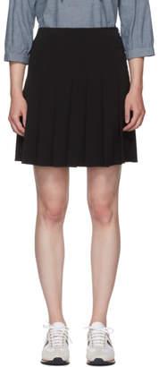 A.P.C. Black Ella Miniskirt