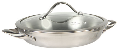 "Calphalon Contemporary Stainless Steel 10"" Everyday Pan"