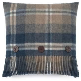 """UGG Glacier Plaid Wool Pillow - Sugar Pine - 20\"""" Square"""