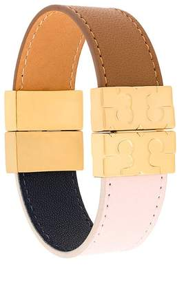 Tory Burch colour-block reversible bracelet