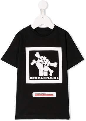 John Richmond Junior There is No Planet B Tシャツ