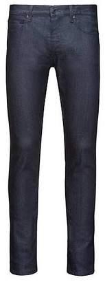 HUGO BOSS Skinny-fit low-rise jeans in stay-blue stretch denim