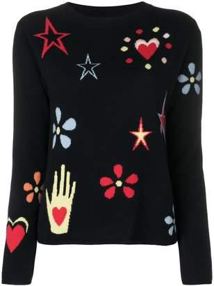 Parker Chinti & intarsia patterns jumper