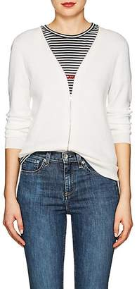 Rag & Bone Women's Vivienne Wool-Blend Zip-Front Cardigan - Ivorybone