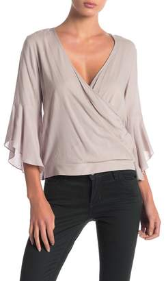 Anama Back Tie Surplice Top