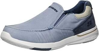 Skechers Men's Relaxed Fit-Elent-Olution Boat Shoe