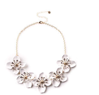 Oasis Floral Collar Necklace