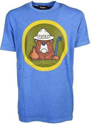 DSQUARED2 Bear Print T-shirt