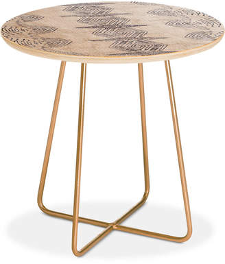 Deny Designs Holli Zollinger French Eris Round Side Table