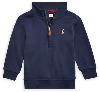 Ralph Lauren Childrenswear Baby Boy's Half-Zip Sweater