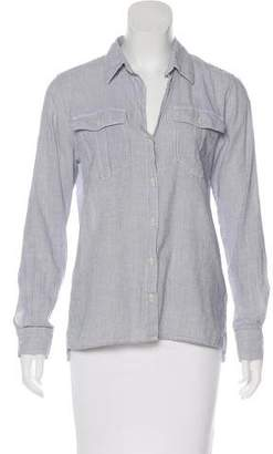 Patagonia Pinstriped Button-Up Top