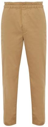 Acne Studios Pace Stretch Cotton Trousers - Mens - Beige