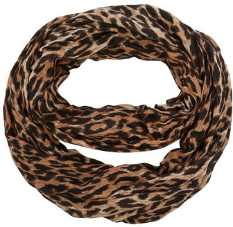 Leopard stripe snood