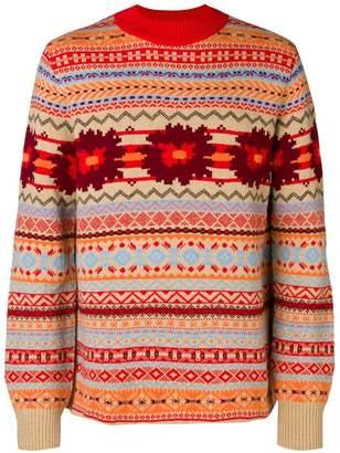 Sacai intarisa knit sweater