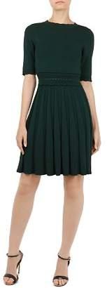 Ted Baker Dorlean Scalloped Knit Dress