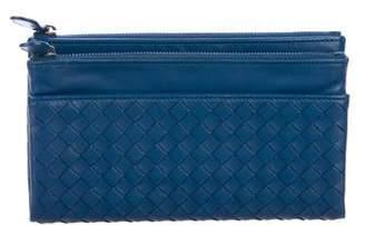 Bottega Veneta Intrecciato Fold-Over Wallet