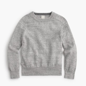 Boys' cotton crewneck sweater $45 thestylecure.com