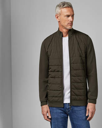 Ted Baker MOWNTT Tall quilted funnel neck jacket