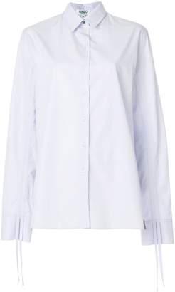 Kenzo drawstring sleeve shirt