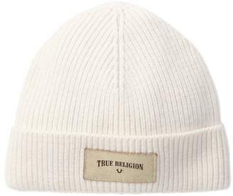 True Religion Rib Knit Beanie