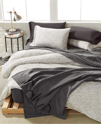 Calvin Klein Modern Cotton Strata King Duvet Cover Bedding