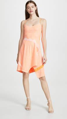 Koché Scoop Neck Printed Dress