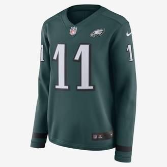 Nike NFL Philadelphia Eagles Jersey (Carson Wentz) Women's Long-Sleeve Football Jersey