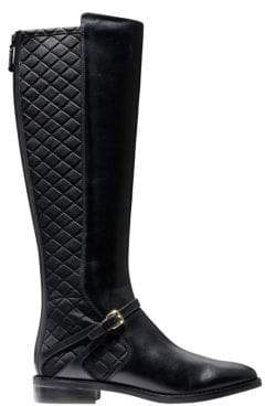 Cole Haan Knee High Round Toe Boots