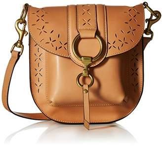 Frye Ilana Perf Saddle Crossbody Bag Oiled Veg