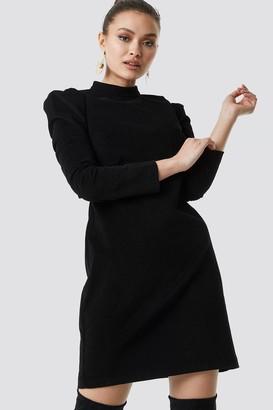 Milla Trendyol Velvet Mini Dress Black