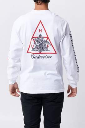 HUF x Budweiser Eagle TT Longsleeve T-Shirt