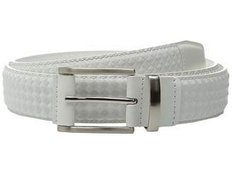Stacy Adams Fidello 35mm Diamond Embossed Belt