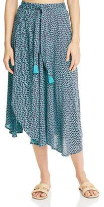 Band of Gypsies Kingston Printed Asymmetric Skirt