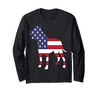 Patriotic Dog Long-Sleeve-Tee for Child