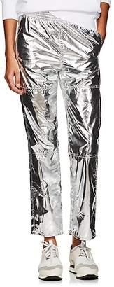 MM6 MAISON MARGIELA Women's Coated Metallic Pants