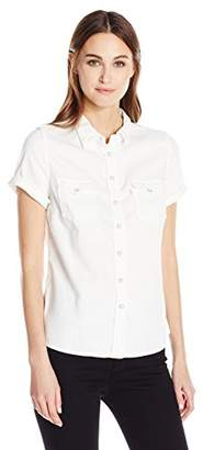 Levi's Women's Short Sleeve Western Shirt