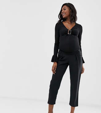 Asos DESIGN Maternity ultimate ankle grazer pants
