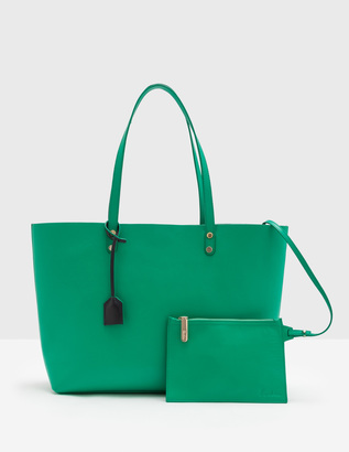Luxe Leather Shopper $240 thestylecure.com