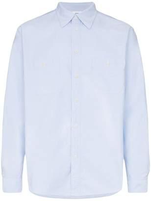 Visvim linen Albacora sleeve detail shirt