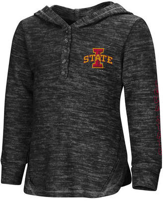 Colosseum Iowa State Cyclones Hooded Long Sleeve Henley T-Shirt, Toddler Girls (2T-4T)