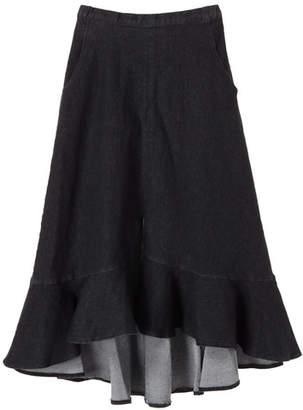 GARAGE OF GOOD CLOTHING ☆SET ティアードカラーデニムスカート