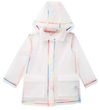 Urban Republic Transparent Vinyl Rain Jacket (Little Girls)