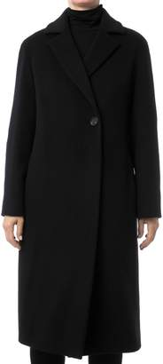 Cinzia Rocca Tailored Wool Maxi Coat