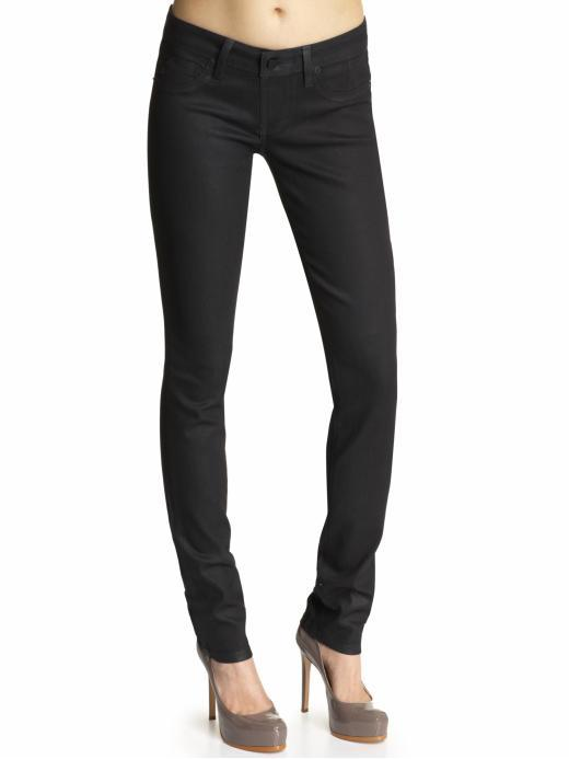 Sold Black Coating Skinny Jeans