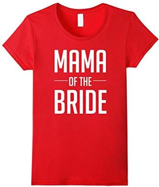 Womens Mother of the Bride Shirts for Bridal Party Wedding T Shirt