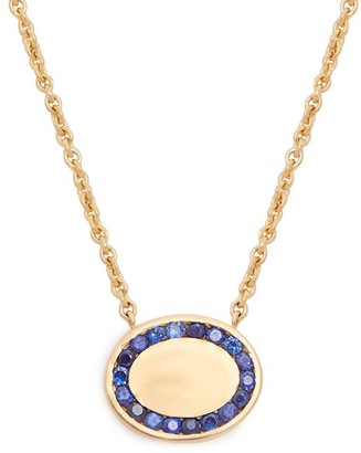 Jessica Biales - Candy Sapphire & Yellow Gold Necklace - Womens - Blue