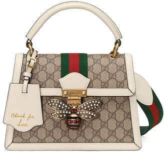 Gucci Queen Margaret Small GG Supreme Top-Handle Bag