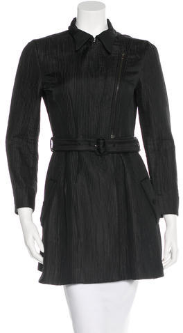 Miu Miu Miu Miu Textured Knee-Length Coat